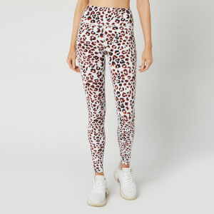 Varley Women's Duncan Leggings - Buckthron Cheetah