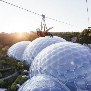 Hangloose at The Eden Project - Zip Wire, Big Air and Giant Swing for Two