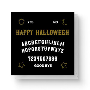 Ouija Board Square Greetings Card (14.8cm x 14.8cm)