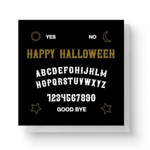 Ouija Board Square Greetings Card (14.8cm x 14.8cm)