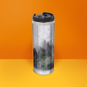 Forest Triangle Thermos Mug