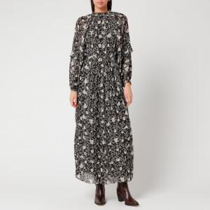 Isabel Marant Étoile Women's Estine Dress - Black/Ecru