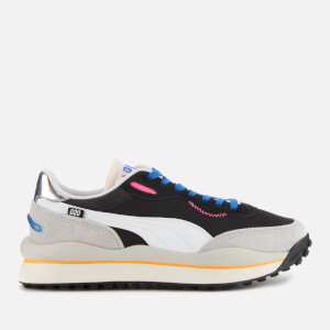 Puma Men's Style Ride Game On Trainers - Black/Grey Multi