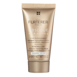 René Furterer Absolue Keratine Ultimate Regenerating Mask - Thick Hair Travel Size 1 fl. oz