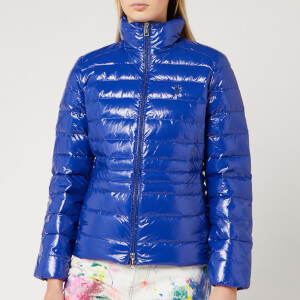 Polo Ralph Lauren Women's Glossy Down Jacket - Active Royal