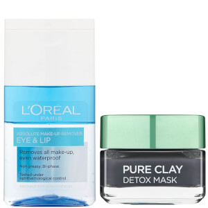 L'Oréal Paris Detox Face Mask and Makeup Remover Duo Exclusive