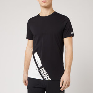 Reebok Men's Archive Evo Short Sleeve T-Shirt - Black
