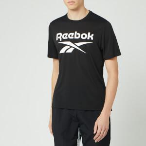 Reebok Men's Supremium Graphic Short Sleeve T-Shirt - Black