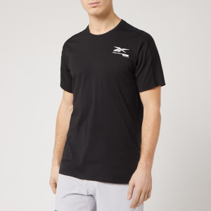 Reebok Men's Speedwick Graphic Short Sleeve T-Shirt - Black