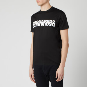 Dsquared2 Men's Mirror Logo T-Shirt - Black