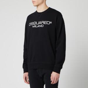 Dsquared2 Men's Milan Logo Sweatshirt - Black