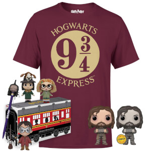 Pack Harry Potter: camiseta + caja de merchandising