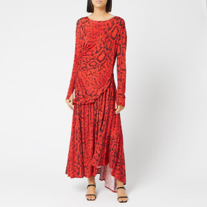 Preen By Thornton Bregazzi Women's Naima Dress - Red Serpent Skin