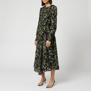 Preen By Thornton Bregazzi Women's Dotted Jaquard Nicola Dress - Heritage Floral