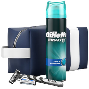 Gillette Mach3 Razor Travel Bag Gift Set