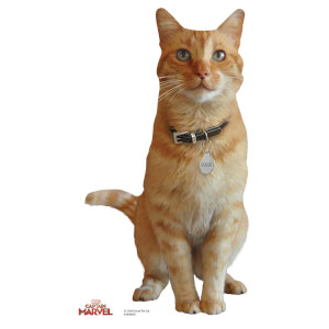 Goose the Cat (Captain Marvel) Mini Cardboard Cut-Out
