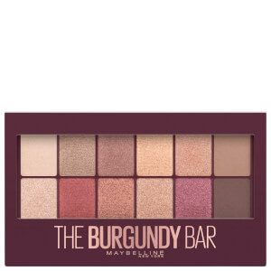 Maybelline Burgundy Bar Eye Shadow Palette 9.6g