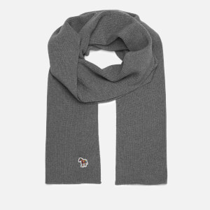 PS Paul Smith Men's Zebra Scarf - Navy