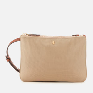 Lauren Ralph Lauren Women's Chadwick Medium Cross Body Bag - Beige