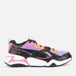 Puma Women's Nova 2 Trainers - Puma Black/Mist Green
