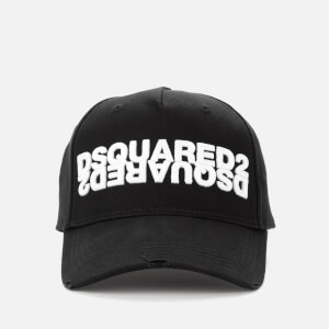 Dsquared2 Men's Mirror Logo Cap - Black