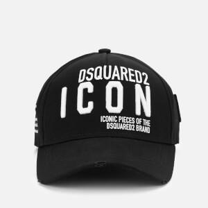 Dsquared2 Men's New Icon Cap - Nero Bianco
