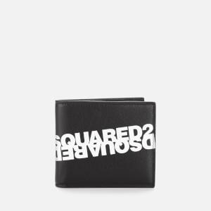 Dsquared2 Men's Mirror Logo Wallet - Nero Bianco