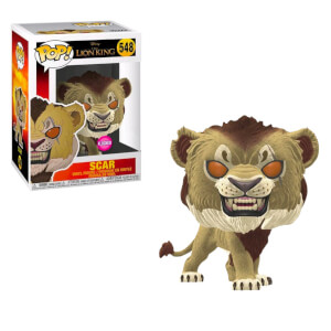 Disney Lion King Scar Flocked EXC Funko Pop! Vinyl Figure