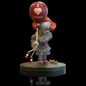 Diorama Q-Fig di Pennywise, da IT: Capitolo Due - Quantum Mechanix