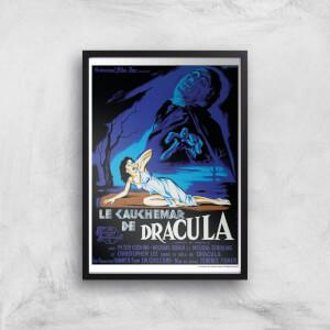 Le Cauchemar De Dracula Giclee Art Print