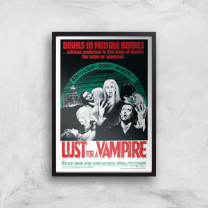 Devils In Female Bodies - Lust For A Vampire Giclee Art Print