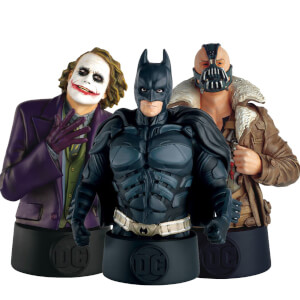 Ultimate 3-Pack Bust - DC Comics The Dark Knight Trilogy (Batman, Bane and the Joker)