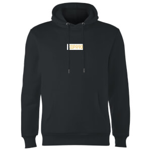 Everyday Colour Collection - Black/White/Yellow Hoodie - Black