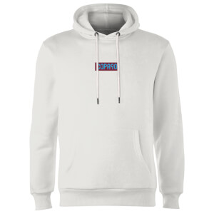 Everyday Colour Collection - White/Maroon/Blue Hoodie - White