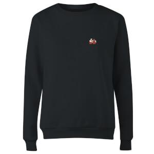 Telepathic Connection - Black Women's Sweatshirt - Black