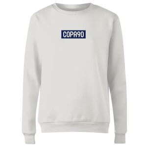 COPA90 Everyday - White/Navy/White Women's Sweatshirt - White