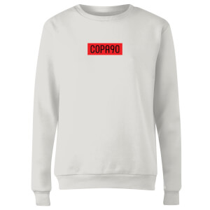 COPA90 Everyday - White/Red/Black Women's Sweatshirt - White