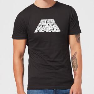 Star Wars: The Rise Of Skywalker IW Trooper Filled Logo Men's T-Shirt - Black