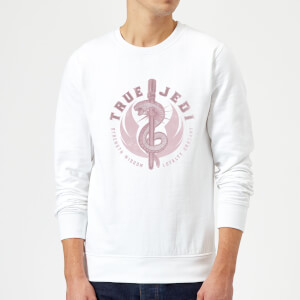 Star Wars The Rise Of Skywalker True Jedi White Sweatshirt - White