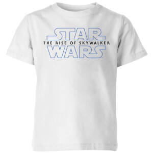 Star Wars The Rise Of Skywalker Logo Kids' T-Shirt - White