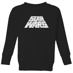 Star Wars The Rise Of Skywalker Star Wars IW Trooper Filled Logo Kids' Sweatshirt - Black