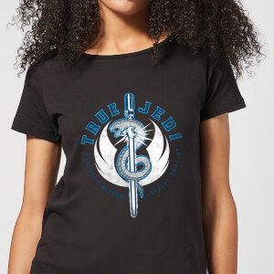 Star Wars The Rise Of Skywalker True Jedi Black Women's T-Shirt - Black