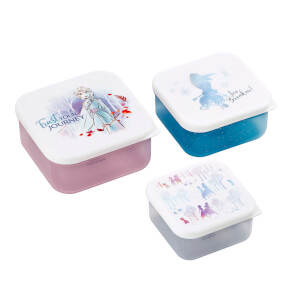Funko Homeware Disney Frozen 2 Trust Your Journey Plastic Storage Set