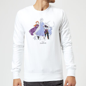 Frozen 2 Group Shot Sweatshirt - White