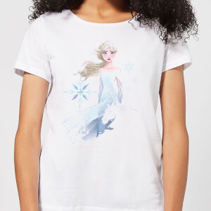 Frozen 2 Nokk Sihouette Women's T-Shirt - White
