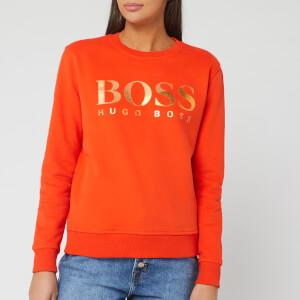 BOSS Women's Tastitch Sweatshirt - Bright Orange