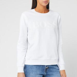 BOSS Women's Tastitch Sweatshirt - White