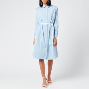 BOSS Hugo Boss Women's Carusa Shirt Dress - Light/Pastel Blue