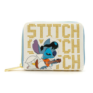 Loungefly Disney Portefeuille Stitch Elvis
