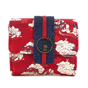Loungefly Disney Mulan Mushu Cloud Wallet